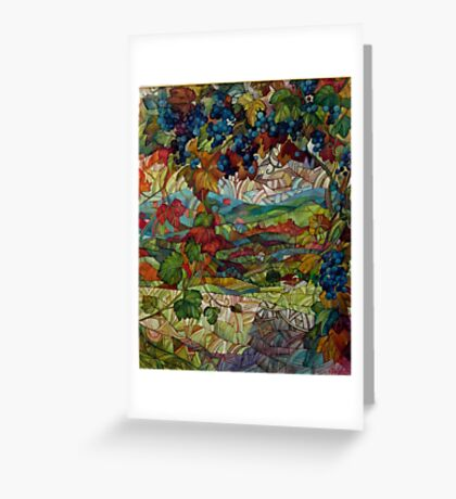 the vineyard Greeting Card