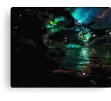 On the Shores of Times End Canvas Print
