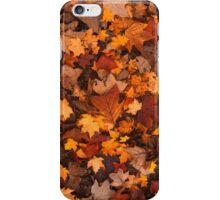 Fall Foliage Pattern iPhone Case/Skin