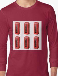 London phone booth Long Sleeve T-Shirt