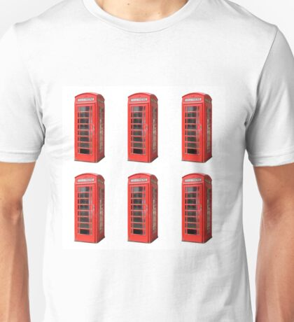 London phone booth Unisex T-Shirt