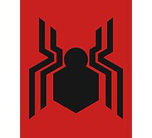 spider-man civil war logo Photographic Print