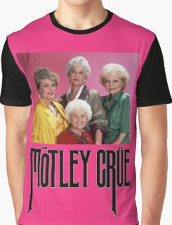 Golden Girls Girls Girls Metal Tee Graphic T-Shirt