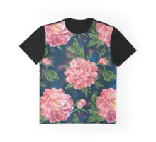 Watercolor peonies Graphic T-Shirt