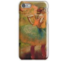 Edgar Degas - Dancers Wearing Green Skirts iPhone Case/Skin