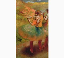 Edgar Degas - Dancers Wearing Green Skirts Unisex T-Shirt