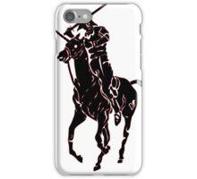 samurai polo iPhone Case/Skin