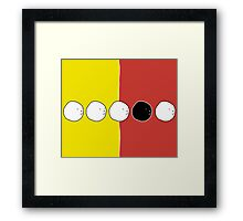 Five Faces Design | Many Faces Series Framed Print