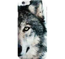 Wolf Art - Timber iPhone Case/Skin