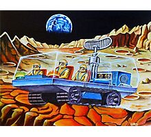MOON BUGGY Photographic Print