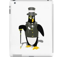 Penguin wearing tux clip art iPad Case/Skin
