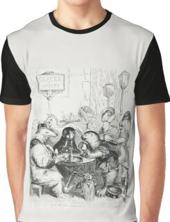 Anthropomorphic Animals by J J Grandville Graphic T-Shirt