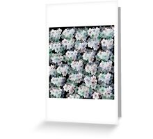 Narcissus patern Greeting Card