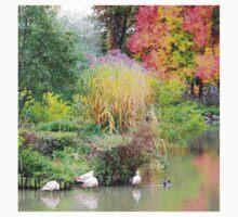 Landscape #6 - autumn colors Kids Tee