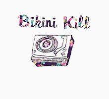 Floral Bikini Kill Design Womens Fitted T-Shirt