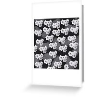 Narcissus patern 2 Greeting Card