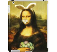 Mona Lisa Easter Bunny with Whiskers iPad Case/Skin