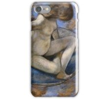Edgar Degas - Woman In The Tub iPhone Case/Skin