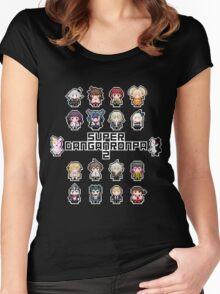 Super Retro Despair 2 Women's Fitted Scoop T-Shirt
