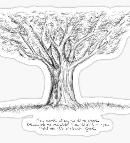 the oak tree Sticker