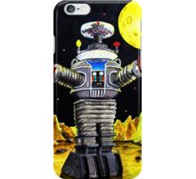 B-9 ROBOT LOST IN SPACE iPhone Case/Skin