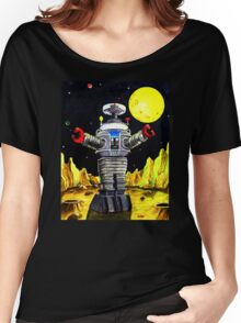 B-9 ROBOT LOST IN SPACE Women's Relaxed Fit T-Shirt
