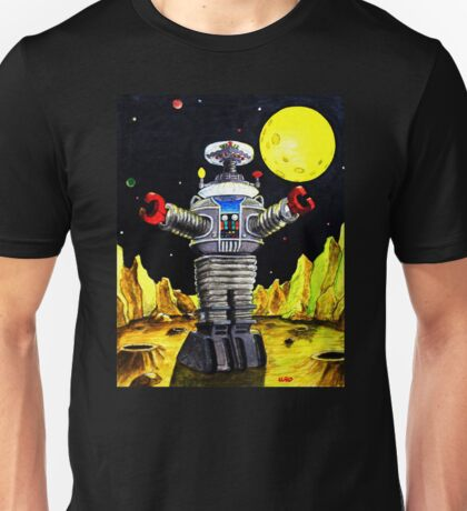 B-9 ROBOT LOST IN SPACE Unisex T-Shirt