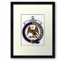 Agnew Clan Badge Framed Print