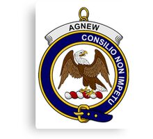 Agnew Clan Badge Canvas Print