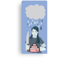 Someone Left Their Cake out in the Rain Canvas Print