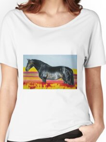 """""""In an Ocean of Color"""" - Color Pencil portrait Women's Relaxed Fit T-Shirt"""