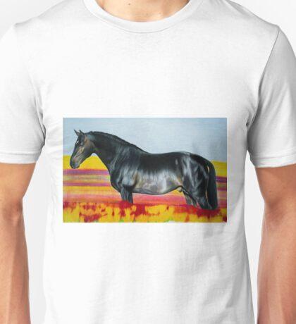 """""""In an Ocean of Color"""" - Color Pencil portrait Unisex T-Shirt"""