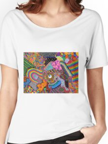 Thought Broadcasting Women's Relaxed Fit T-Shirt