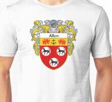 Allen Coat of Arms/Family Crest Unisex T-Shirt