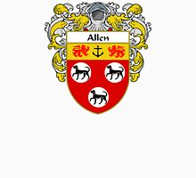 Allen Coat of Arms/Family Crest Unisex T-Shirt