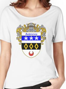 Andrews Coat of Arms/Family Crest Women's Relaxed Fit T-Shirt