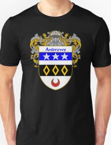 Andrews Coat of Arms/Family Crest Unisex T-Shirt