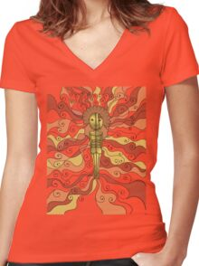 IRONlady Women's Fitted V-Neck T-Shirt