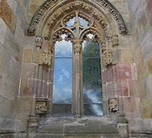Rosslyn Chapel, Roslin, Scotland (window) by MagsWilliamson