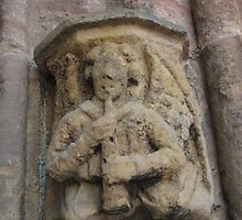 Rosslyn Chapel, Roslin, Scotland (angel) by MagsWilliamson