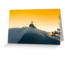 Beautiful Christ The Redeemer Greeting Card