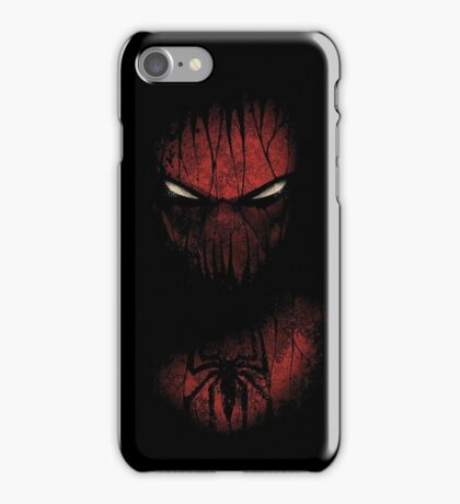 spider-man comic art iPhone Case/Skin