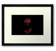 spider-man comic art Framed Print