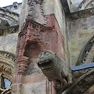 Rosslyn Chapel, Roslin, Scotland (gargoyle and detail) by MagsWilliamson