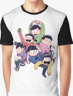 Osomatsu-san Graphic T-Shirt