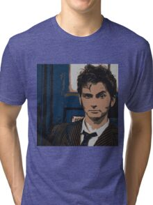 Tenth Doctor Tri-blend T-Shirt