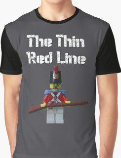 The Thin Red Line by Tim Constable Graphic T-Shirt