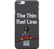 The Thin Red Line by Tim Constable iPhone Case/Skin