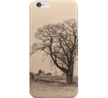 an old Tree - mystic Landscape iPhone Case/Skin