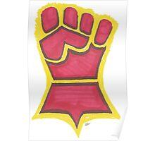 Crimson Fist Poster